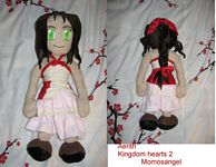Aerith from Kingdom Hearts II