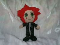 Axel from Kingdom Hearts II