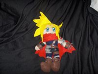 Cloud from Kingdom Hearts