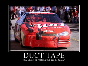 Duct Tape Nascar