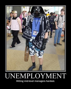 Unemployment Darth Vader
